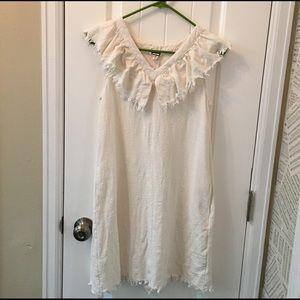 Anthropologie Mo:Vint Ruffled Alma Tunic Dress